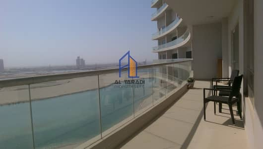 2 Bedroom Apartment for Rent in Al Reem Island, Abu Dhabi - Fully Furnished /Huge Balcony /Full Sea view