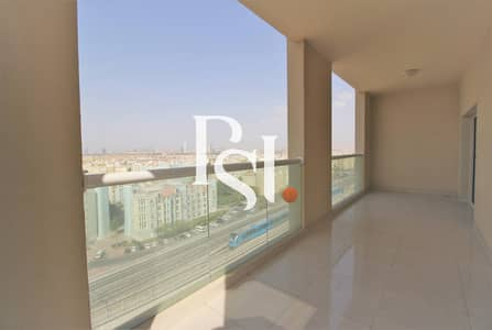2 Bedroom Flat for Rent in Al Furjan, Dubai - Chiller  Free |  2 Bedrooms | Huge balcony | Near METRO