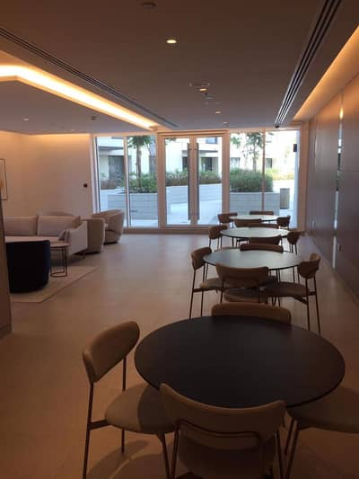شقة 1 غرفة نوم للايجار في أكويا أكسجين، دبي - Brand new creek view un furnished 1 BHK  with chiller free ready to move 62k