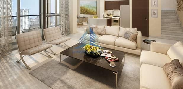 فلیٹ 2 غرفة نوم للبيع في وسط مدينة دبي، دبي - Pay 10% ,Designed Elegantly with Terrace, Burj View