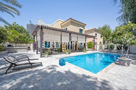 4 Bedroom Villa for Sale in Dubai Sports City, Dubai - EXCLUSIVE | Largest Plot | Backing Park | 4 Bed