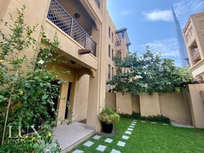 شقة 2 غرفة نوم للايجار في المدينة القديمة، دبي - OT Specialist | Private Garden | Burj View