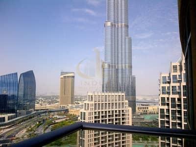 فلیٹ 2 غرفة نوم للايجار في وسط مدينة دبي، دبي - On High Floor | Vacant and Ready to Move in | 2 Bedrooms