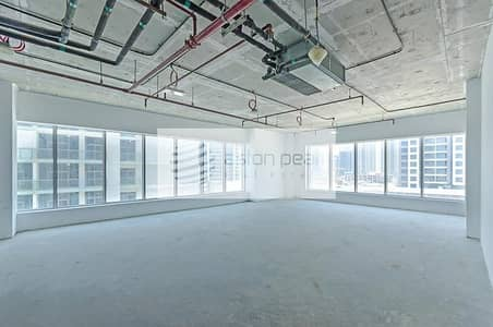Office for Rent in Business Bay, Dubai - Corner OFFICE Space | Nice Layout |Shell  and Core