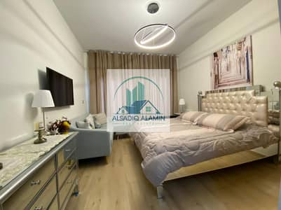 Studio for Rent in Downtown Jebel Ali, Dubai - LUXOURIOUSLY  FURNISHED | WELL EQUIPED| BRAND NEW STUDIO| CHILLER FREE| AZIZI AURA | 12 CHEQUES
