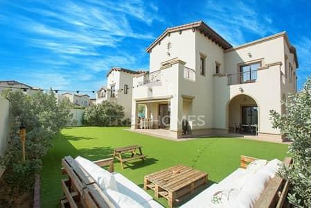 4 Bedroom Villa for Sale in Arabian Ranches 2, Dubai - Dark Wood Finish | 4Beds+Maid | Type 1
