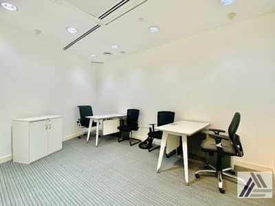 مکتب  للايجار في بر دبي، دبي - New-Age Luxury Smart Offices in the Heart of Dubai Surrounded by Exquisite Beauty High Floor