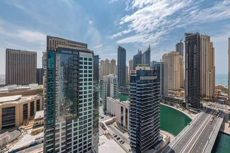 شقة 1 غرفة نوم للايجار في دبي مارينا، دبي - Marina View | Furnished Apt | Spacious