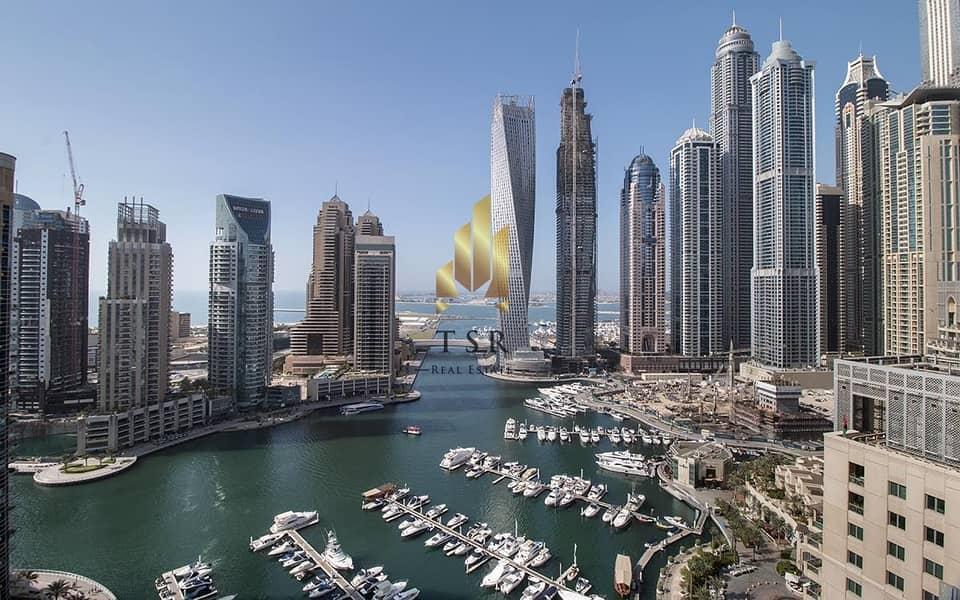 Full Marina View | 5BR Penthouse | EMAAR