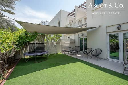 3 Bedroom Townhouse for Sale in Al Furjan, Dubai - Vacant on Transfer| Immaculate |BBQ Area