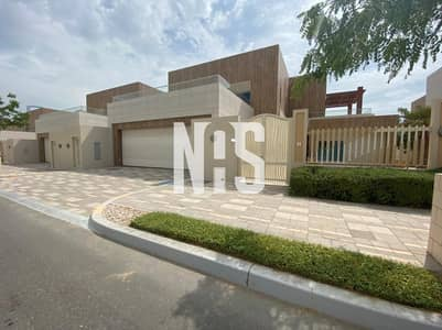 6 Bedroom Villa for Sale in The Marina, Abu Dhabi - Luxurious and Elegant Villa with Amazing Sea View