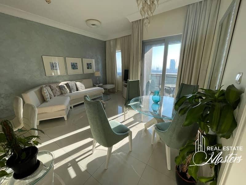 Stunning 1 Bedroom Hotel Apartment next Burj Khalifa