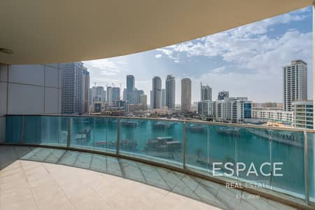 2 Bedroom Apartment for Rent in Dubai Marina, Dubai - Marina View | 2 Bedrooms | Large Balconies