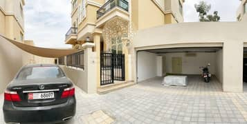 SUPER DELUXE 6 MASTER BEDROOM VILLA IN A LUXURY COMPOUND FOR RENT IN KHALIFA CITY A WITH DRIVER ROOM