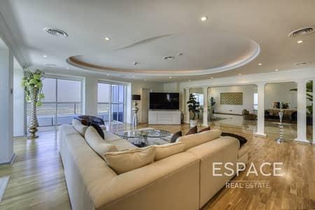 بنتهاوس 4 غرف نوم للايجار في دبي مارينا، دبي - Penthouse | Sea View | Marina View
