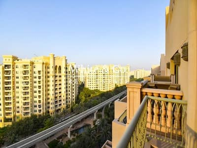 بنتهاوس 3 غرف نوم للايجار في نخلة جميرا، دبي - Penthouse | Vacant | Park Views | Unfurnished