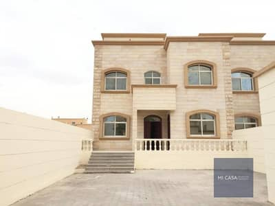 5 Bedroom Villa for Rent in Mohammed Bin Zayed City, Abu Dhabi - Separate entrance | Balcony + Maid & driver's room