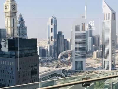 شقة 3 غرف نوم للايجار في مركز دبي المالي العالمي، دبي - Stunning Museum of the Future View I 3 BR I Vacant