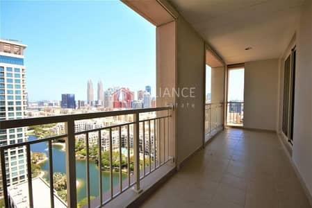 فلیٹ 3 غرف نوم للايجار في ذا فيوز، دبي - Available July | 3 Bedrooms +2.5 Baths | 2 Parking