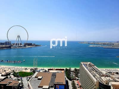2 Bedroom Apartment for Sale in Jumeirah Beach Residence (JBR), Dubai - Full Sea view | Close to beach | Excellent layout