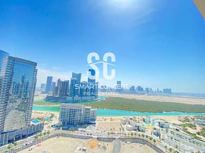 3 Bedroom Flat for Rent in Al Reem Island, Abu Dhabi - Luxurious Deal | Wide Balcony and Beautiful View