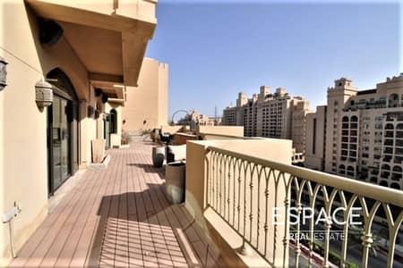 بنتهاوس 3 غرف نوم للايجار في نخلة جميرا، دبي - Unfurnished Penthouse 3BHK Must See
