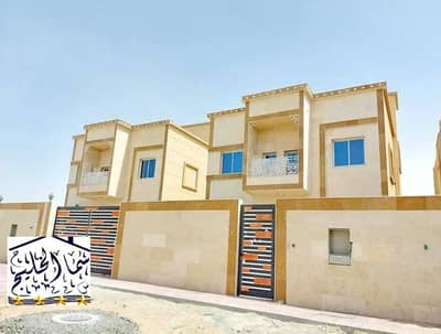 5 Bedroom Villa for Sale in Al Rawda, Ajman - Villa for sale in the Emirate of Ajman, Al Mowaihat area, a new modern villa, the first inhabitant of the best Ajman market villas, at an excellent price