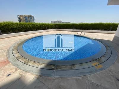 فلیٹ 1 غرفة نوم للايجار في الفرجان، دبي - FURNISHED   20 sec walk to Metro   Chiller Free   Main Rd View
