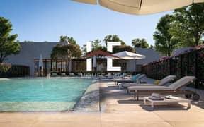 فیلا في ياس ايكرز جزيرة ياس 2 غرف 1650000 درهم - 5132065