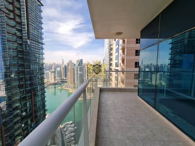 3 Bedroom Apartment for Rent in Dubai Marina, Dubai - MARINA VIEW | 3 Bed + M | 3888sqft @145k