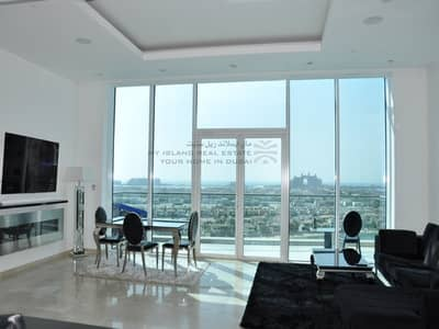 2 Bedroom Flat for Rent in Palm Jumeirah, Dubai - High floor Unfurnished 2 bedroom vacant NOW!!!