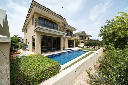 5 Bedroom Villa for Sale in Jumeirah Golf Estate, Dubai - Exclusive - A Type - Earth Golf Course Views