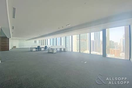 Office for Rent in DIFC, Dubai - Partitioned | High Floor | Amazing Views