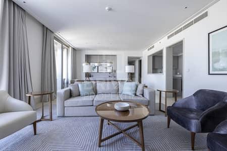 فلیٹ 3 غرف نوم للايجار في وسط مدينة دبي، دبي - Furnished and Serviced Apt w/ Maids room
