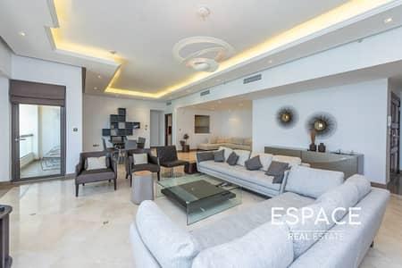 فلیٹ 4 غرف نوم للايجار في جميرا بيتش ريزيدنس، دبي - Fully Upgraded | Sea Views | Available Now
