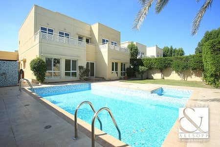 فیلا 5 غرف نوم للبيع في السهول، دبي - Upgraded | Type 7 | Private Pool | 5 Beds