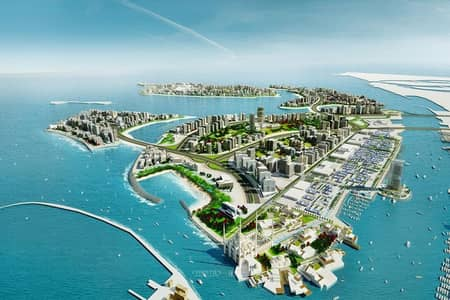 Mixed Use Land for Sale in Deira Island, Dubai - Plot of Land|To Host Four Interconnected Islands