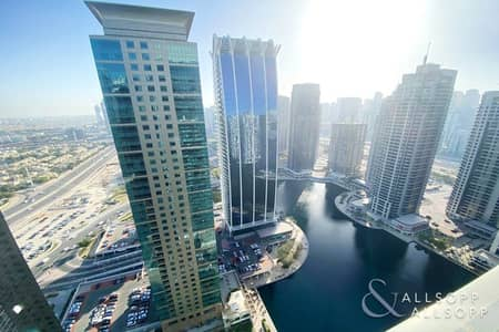 4 Bedroom Flat for Sale in Jumeirah Lake Towers (JLT), Dubai - Large Four Beds | Full Lake Views | Bright