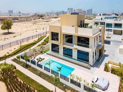 فیلا 6 غرف نوم للبيع في دبي هيلز استيت، دبي - Live in the Lap of Luxury | 6BR Golf Course Villa