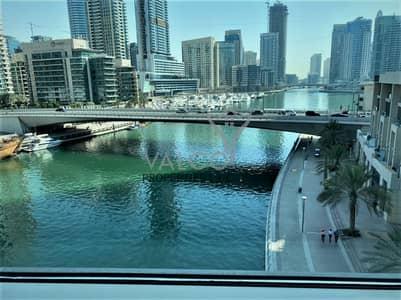 شقة 3 غرف نوم للايجار في دبي مارينا، دبي - Panoramic Marina View | Large Layout | Maid