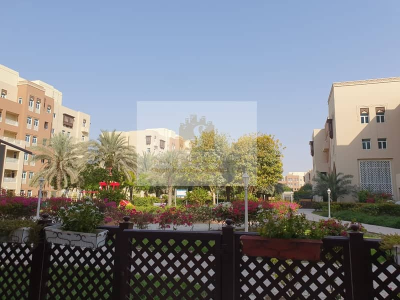 13 MASAKIN AL FURJAN   LARGE G. FLOOR   VACANT ON TRANSFER   3BR + MAIDS   WITH GARDEN VIEW