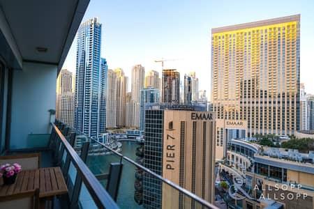 2 Bedroom Flat for Sale in Dubai Marina, Dubai - Full Marina Views | Vacant | Two Bedrooms