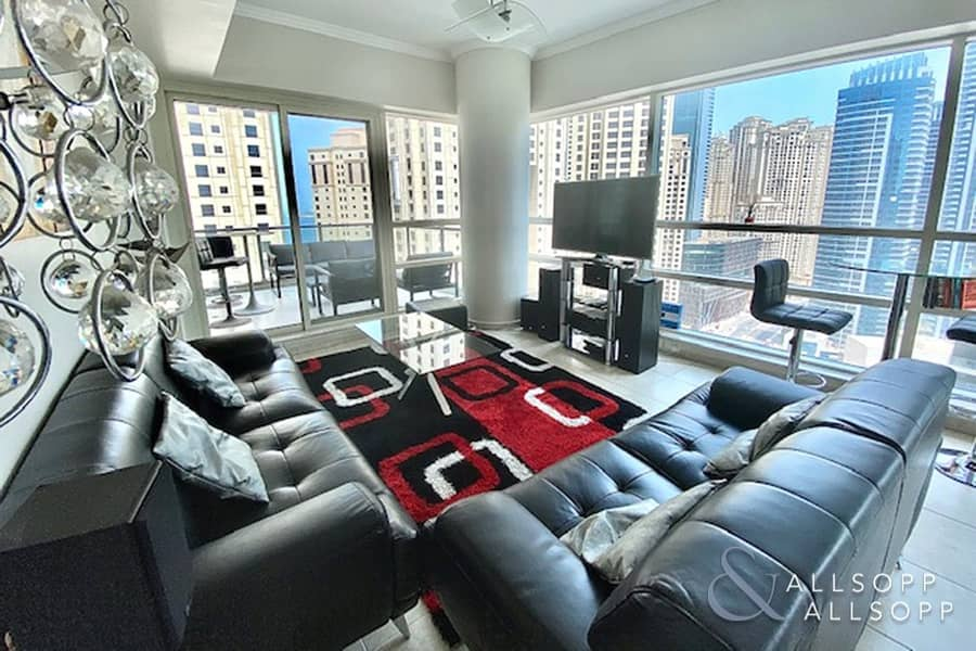 14 Two bedroom apartment in Al Sahab 2 which is available now.