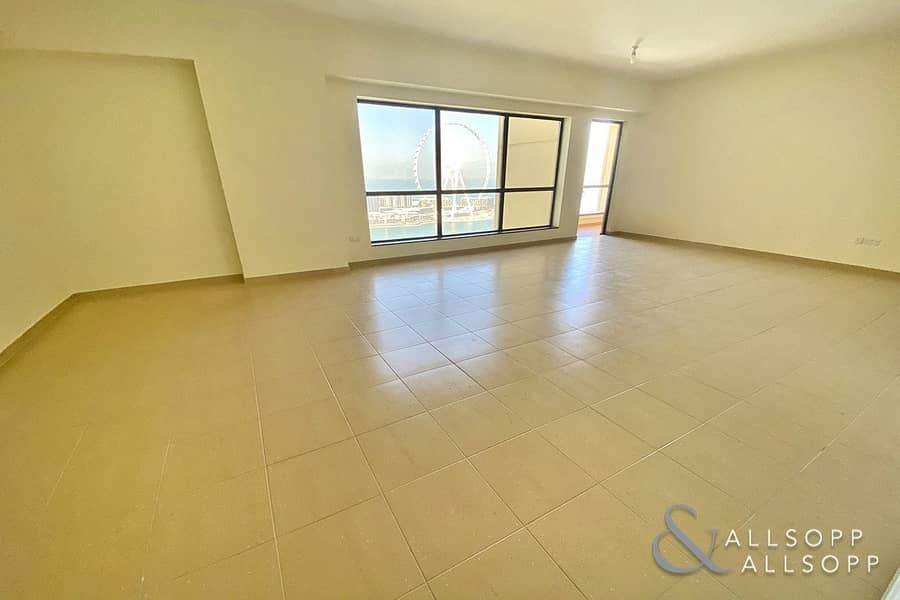 16 Full Views | Vacant | 3 Balconies | 3 Bed