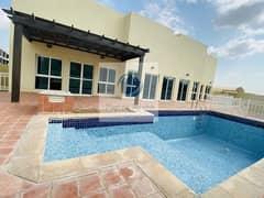 Private Pool+Garden Private Entrance 3 Bed Villa In Khalifa  City A