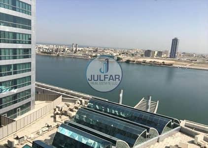 Office for Rent in Dafan Al Nakheel, Ras Al Khaimah - Sea View Office Available for RENT in Julphar Tower