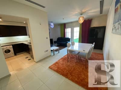 1 Bedroom Townhouse for Rent in Jumeirah Village Circle (JVC), Dubai - Fully Furnished 1 BR TH | Real Images | 12 Chqs | 90 K per annum