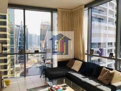 شقة 1 غرفة نوم للايجار في أبراج بحيرات الجميرا، دبي - Panorama Lake view/Next to Metro/ with Kitchen Appliance 1BR