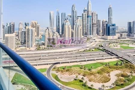 2 Bedroom Flat for Rent in Jumeirah Lake Towers (JLT), Dubai - 1 BR Duplex    High Floor   Chiller Free