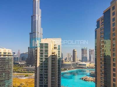 3 Bedroom Flat for Rent in Downtown Dubai, Dubai - Burj Khalifa View| Rare Layout | Huge Terrace